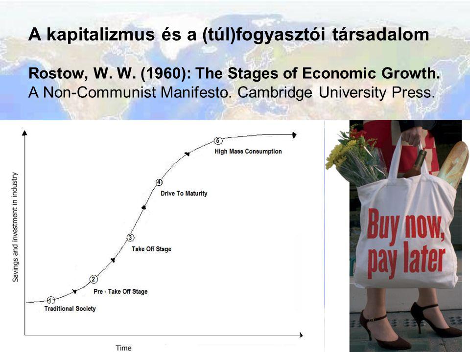 A kapitalizmus és a (túl)fogyasztói társadalom Rostow, W. W