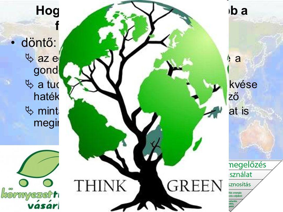 Hogyan juthatunk el leghamarabb a fenntartható társadalomhoz