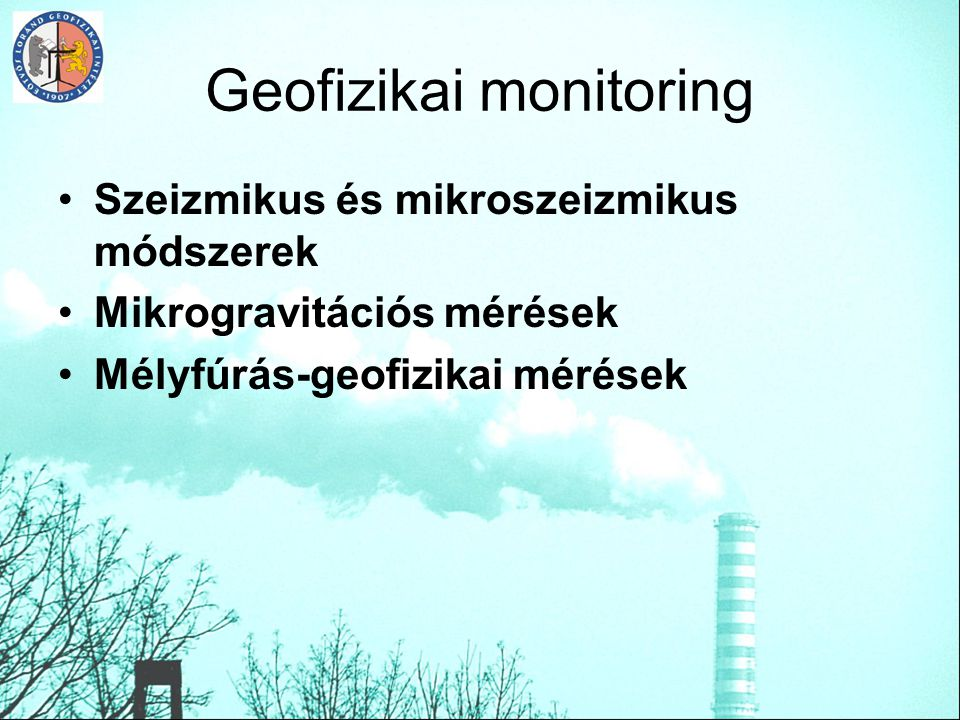 Geofizikai monitoring