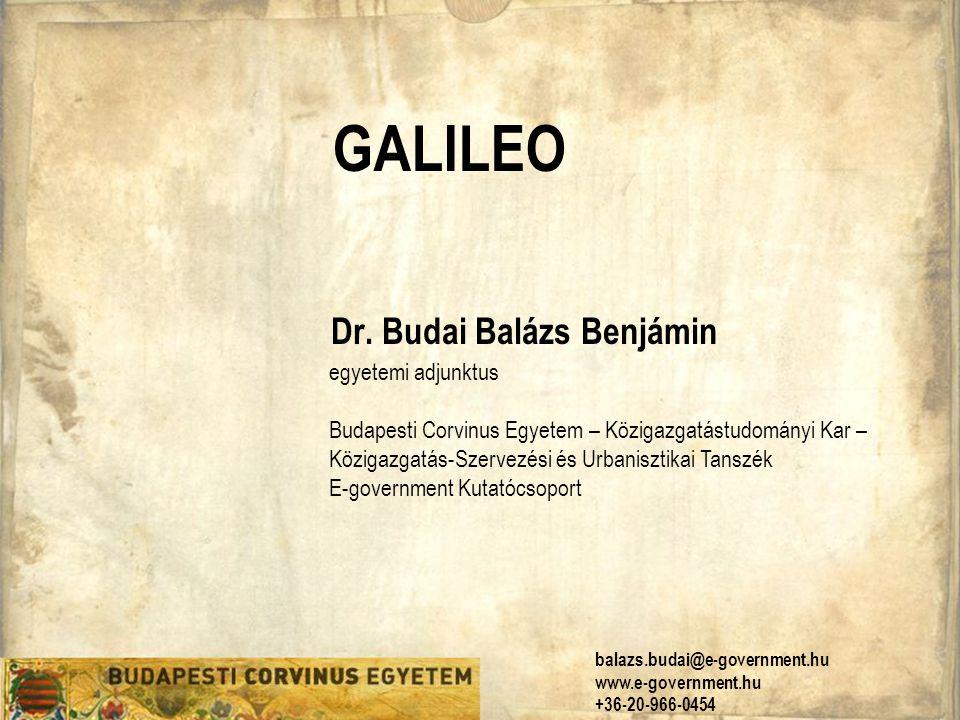 Dr. Budai Balázs Benjámin