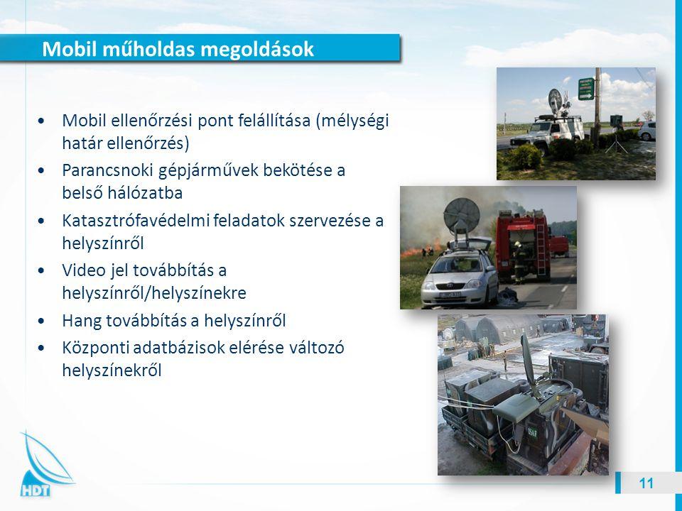 Mobil műholdas megoldások