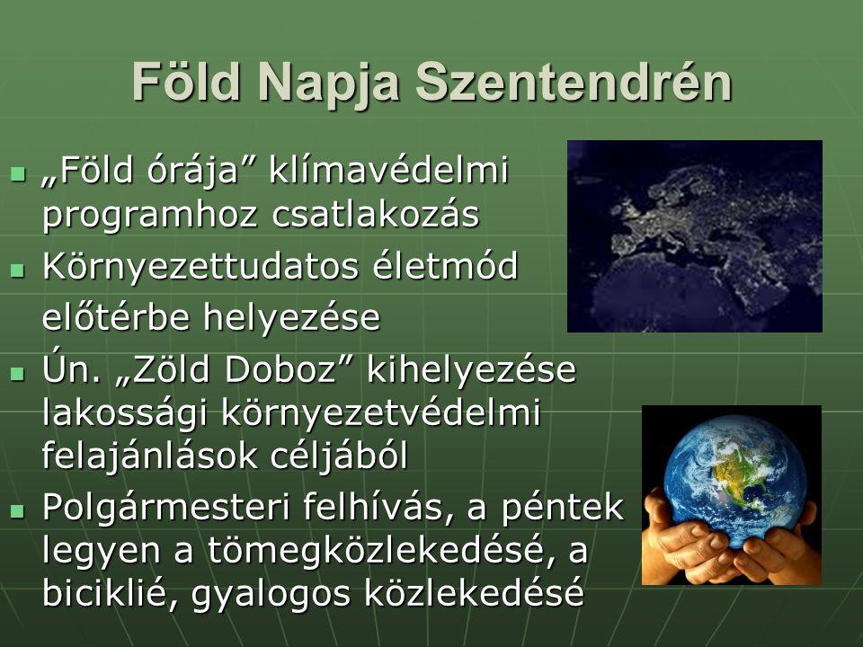 Föld Napja Szentendrén
