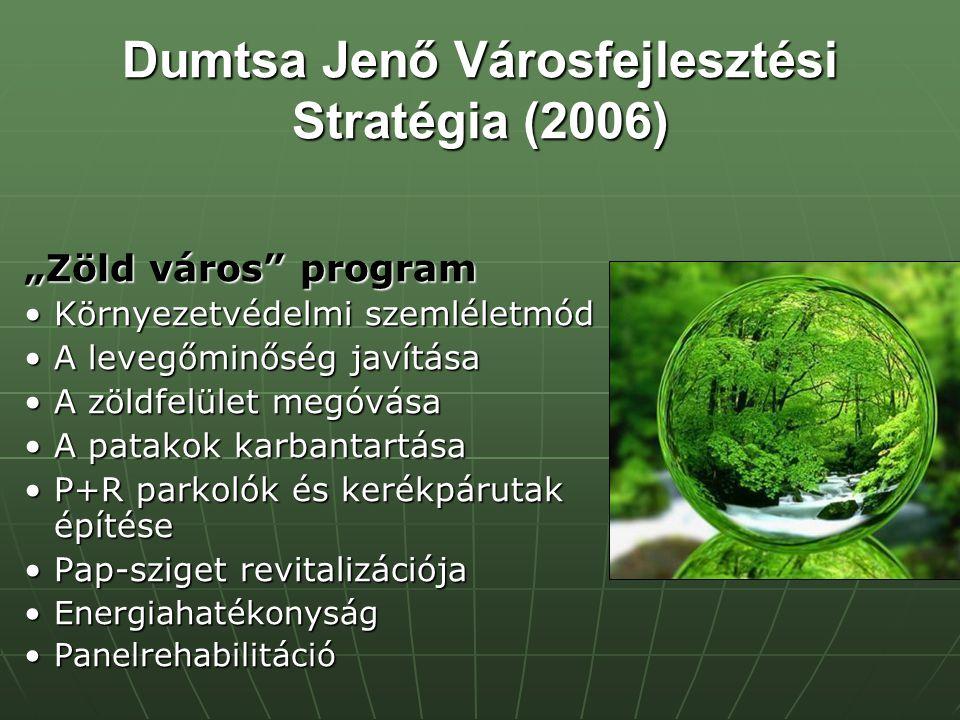 Dumtsa Jenő Városfejlesztési Stratégia (2006)