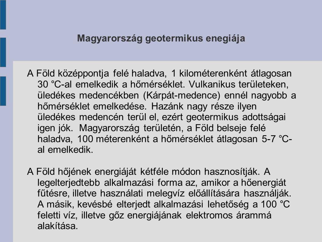 Magyarország geotermikus enegiája