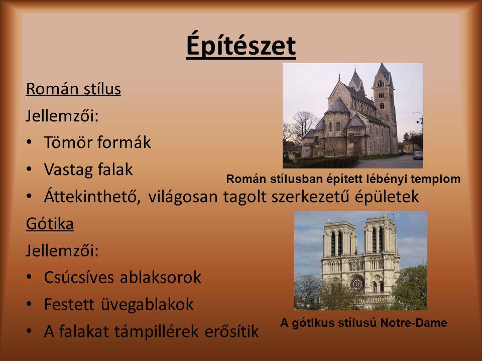 Román stílusban épített lébényi templom