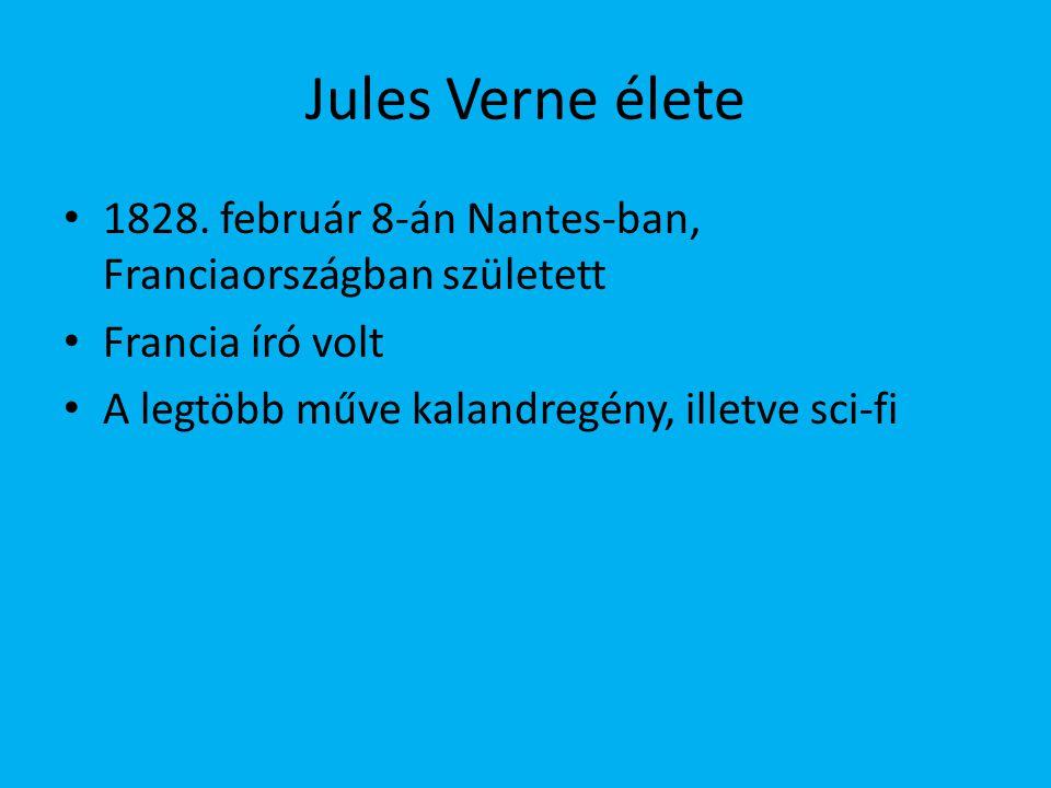 Jules Verne élete 1828. február 8-án Nantes-ban, Franciaországban született.