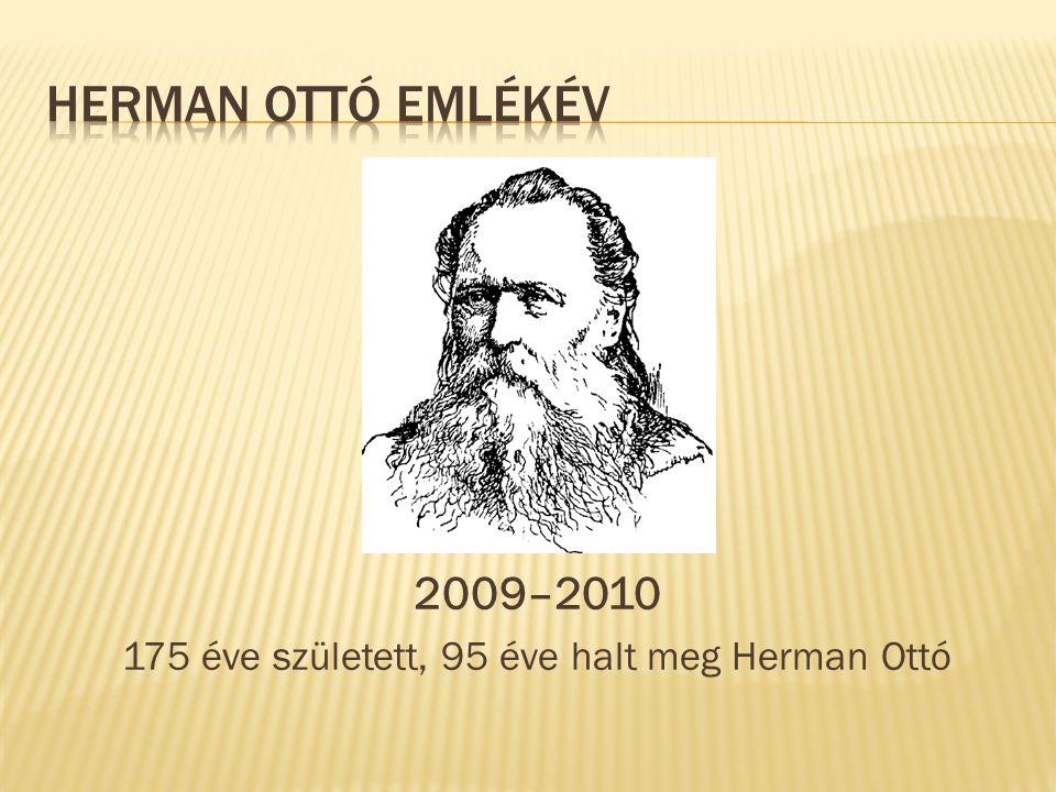 175 éve született, 95 éve halt meg Herman Ottó