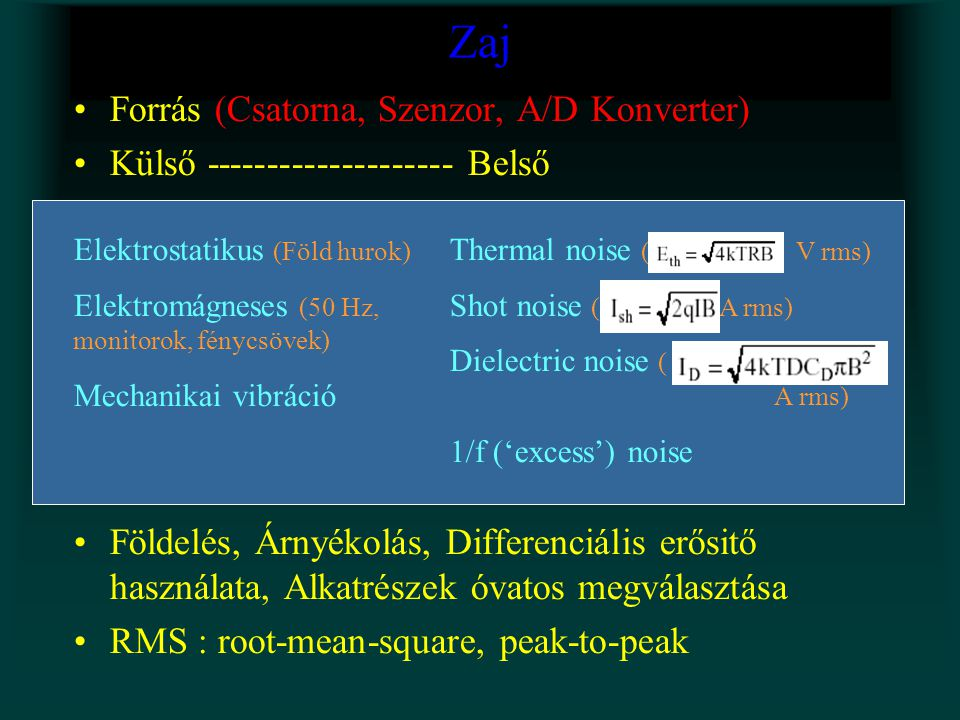 Zaj Forrás (Csatorna, Szenzor, A/D Konverter)