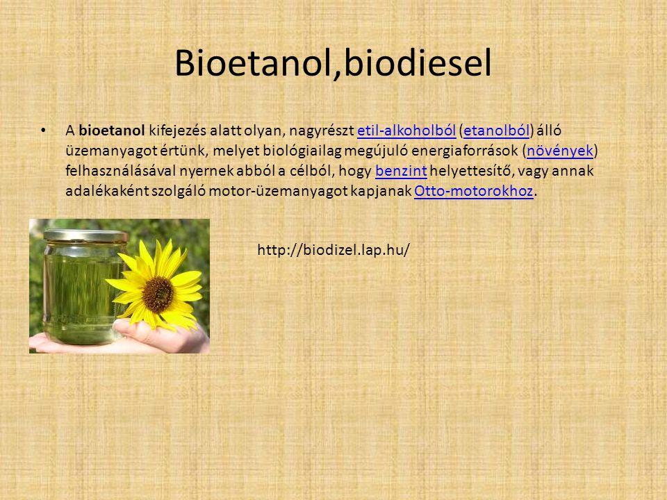 Bioetanol,biodiesel
