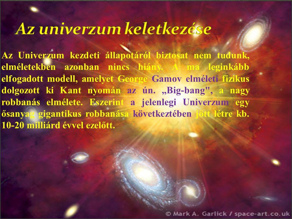 Az univerzum keletkezése
