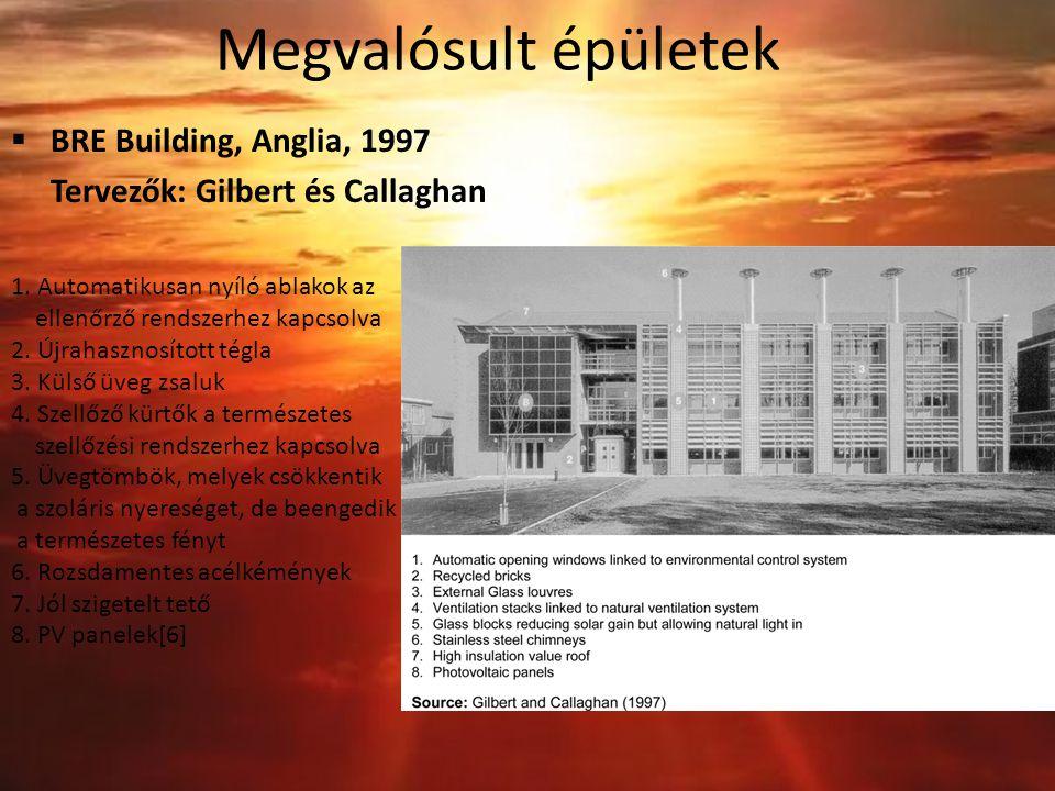 Megvalósult épületek BRE Building, Anglia, 1997