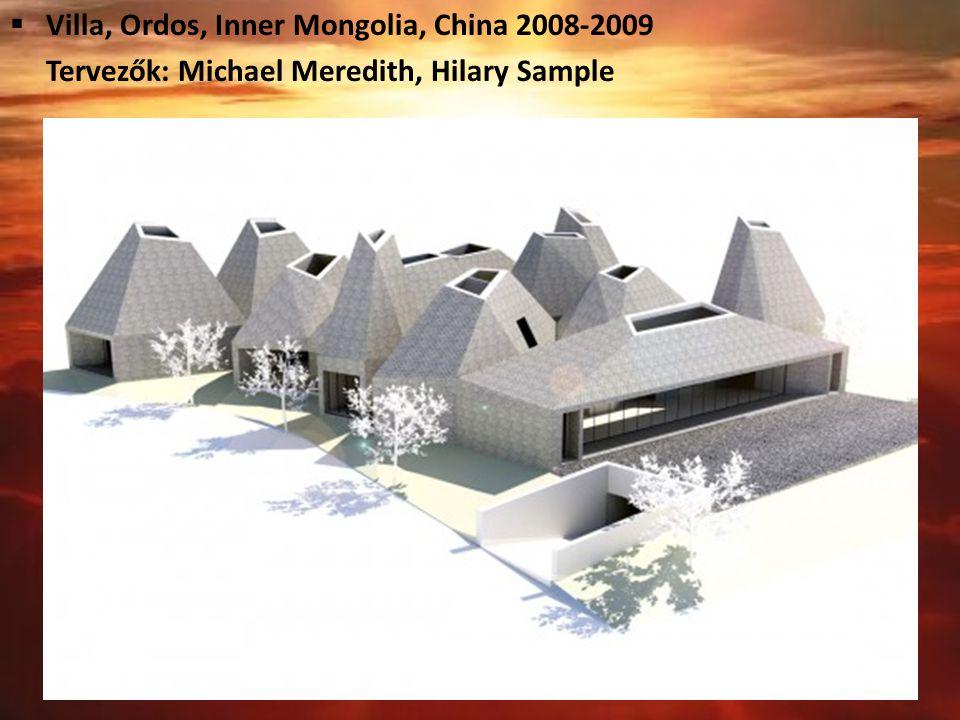 Villa, Ordos, Inner Mongolia, China 2008-2009