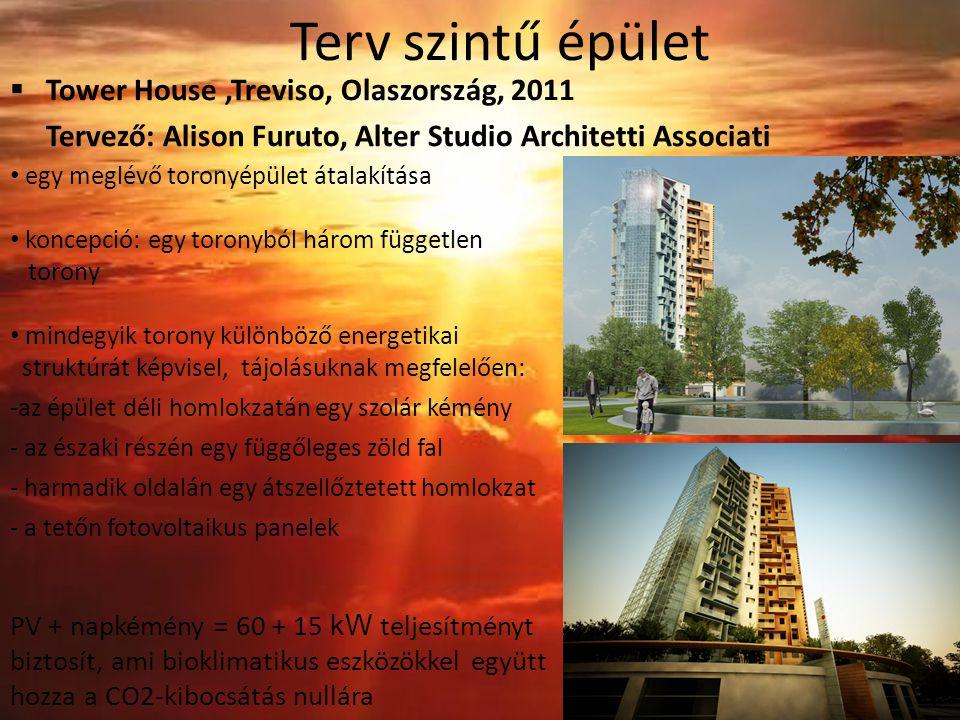 Terv szintű épület Tower House ,Treviso, Olaszország, 2011