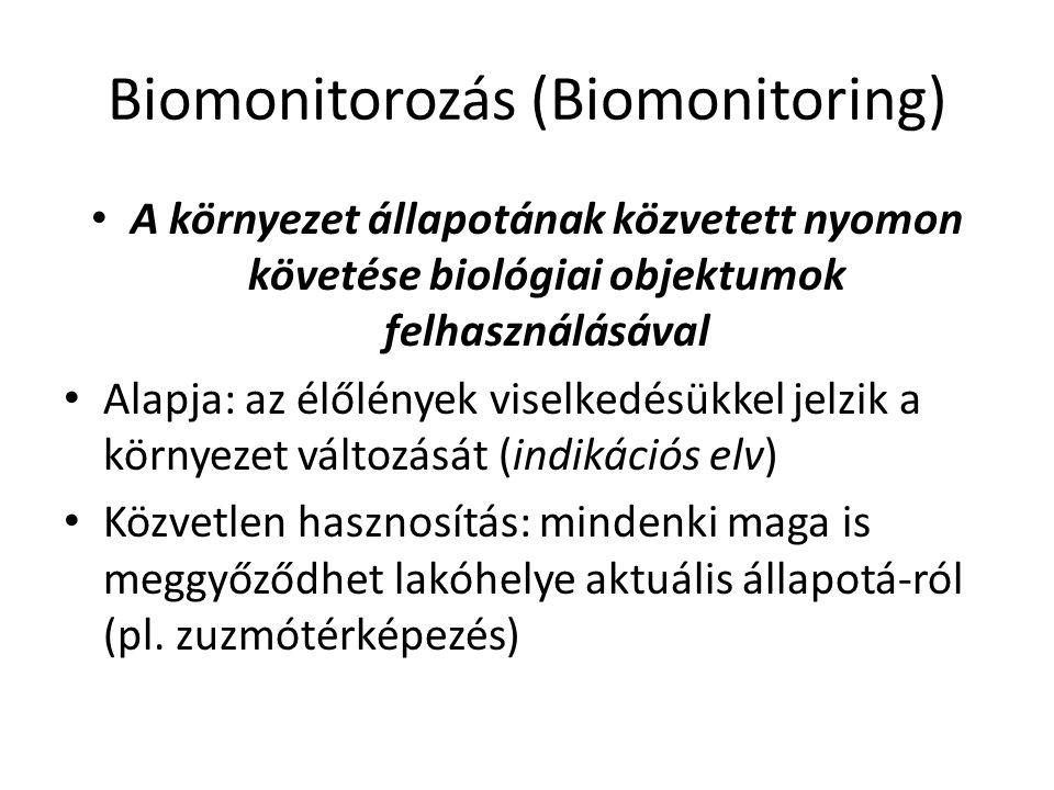 Biomonitorozás (Biomonitoring)