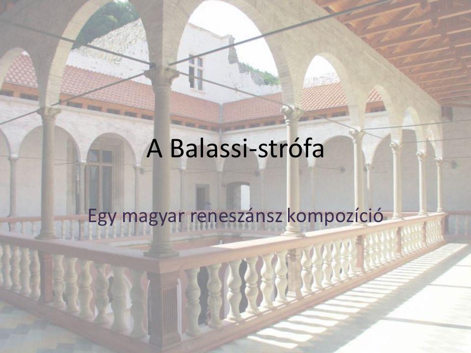 Egy magyar reneszánsz kompozíció