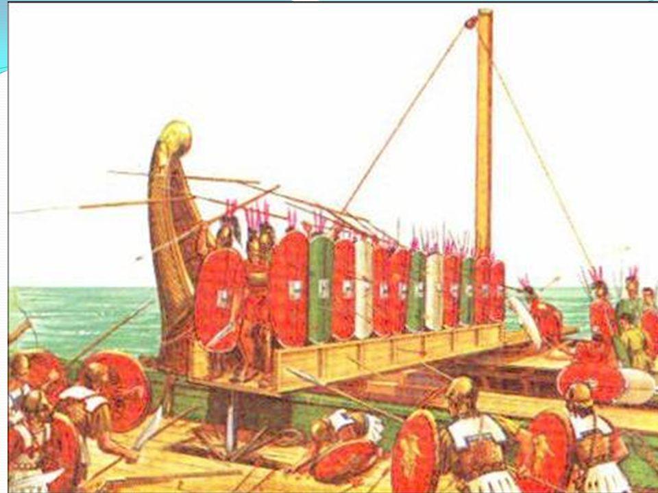 A pun háborúk 1. háború – Kr.e. 264-241. – kiegyenlített küzdelem