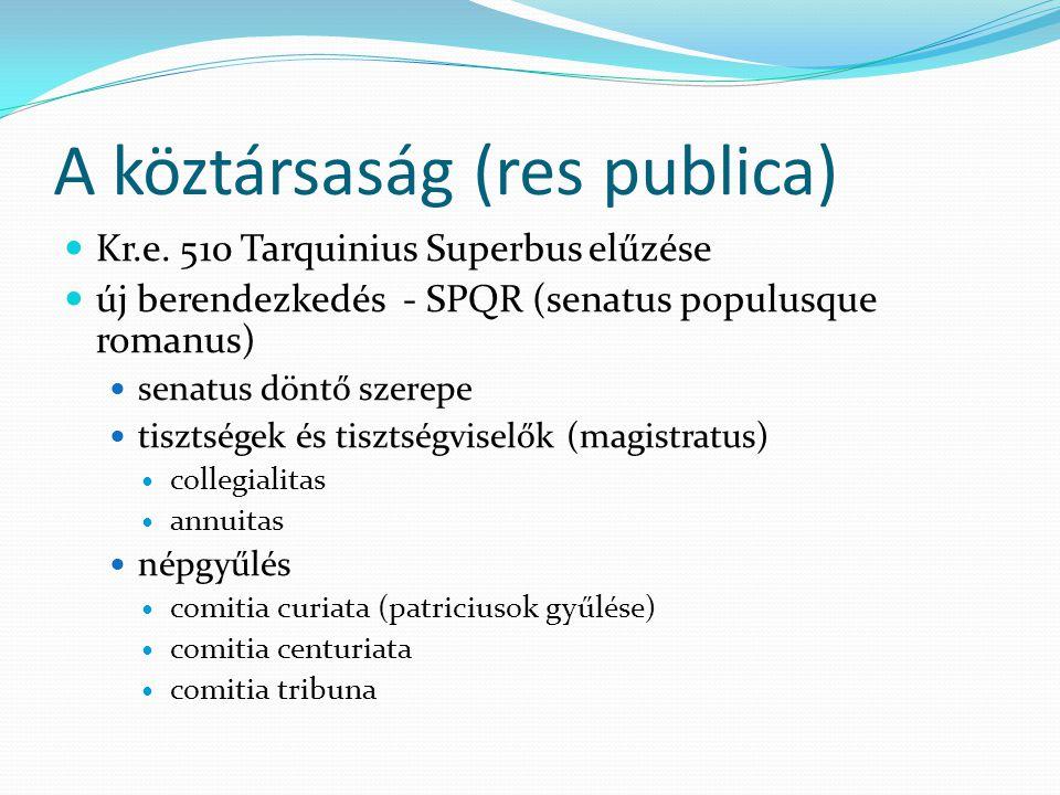 A köztársaság (res publica)
