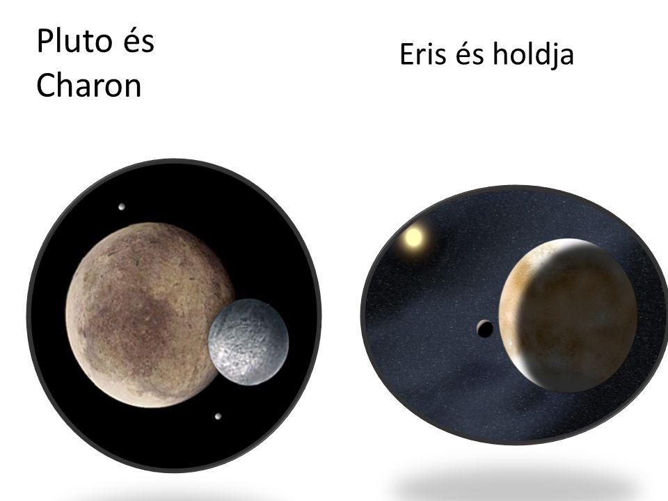 Pluto és Charon Eris és holdja