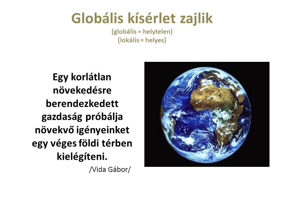 Globális kísérlet zajlik (globális = helytelen) (lokális = helyes)