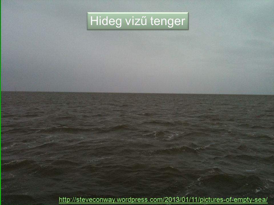 Hideg vizű tenger http://steveconway.wordpress.com/2013/01/11/pictures-of-empty-sea/