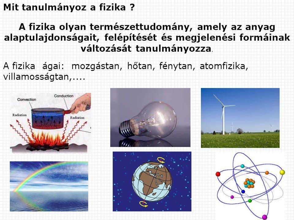 Mit tanulmányoz a fizika
