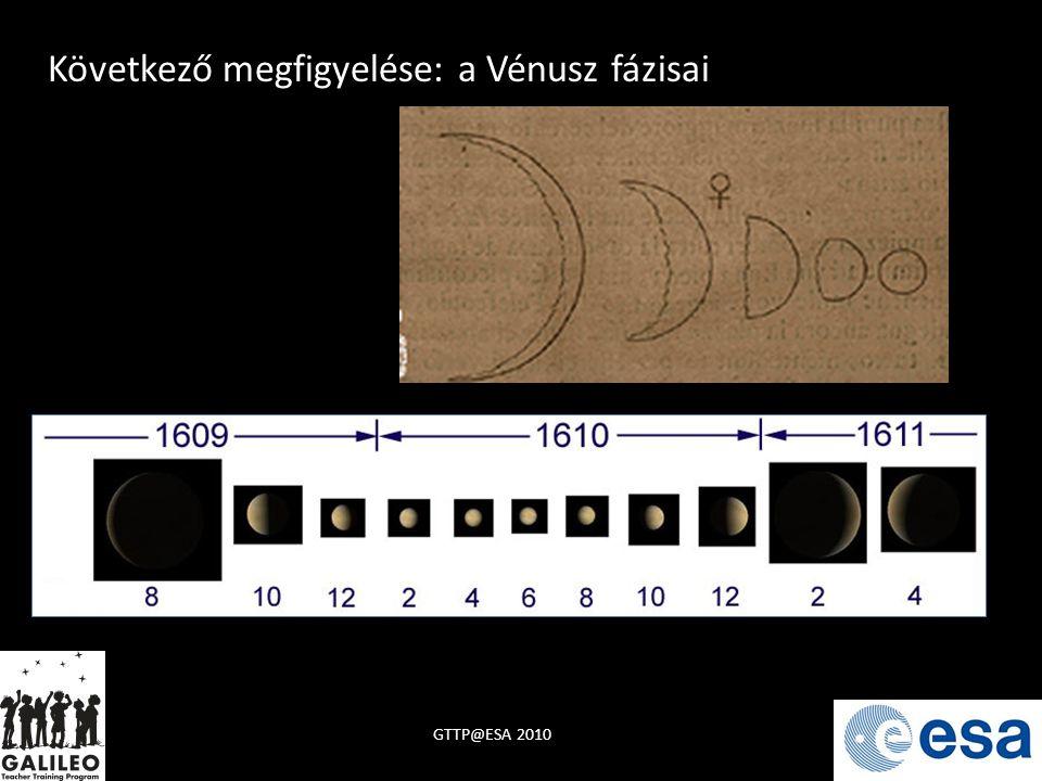 Következő megfigyelése: a Vénusz fázisai