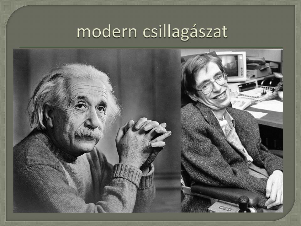 modern csillagászat E. P. Hubble Stephen Hawking táguló világegyetem