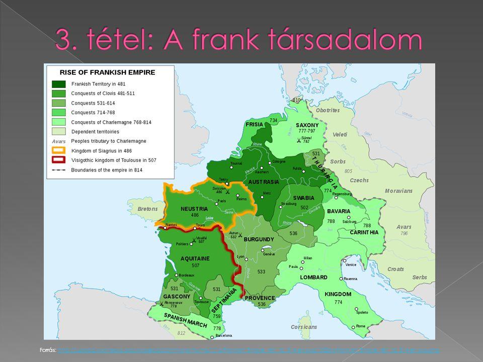 3. tétel: A frank társadalom