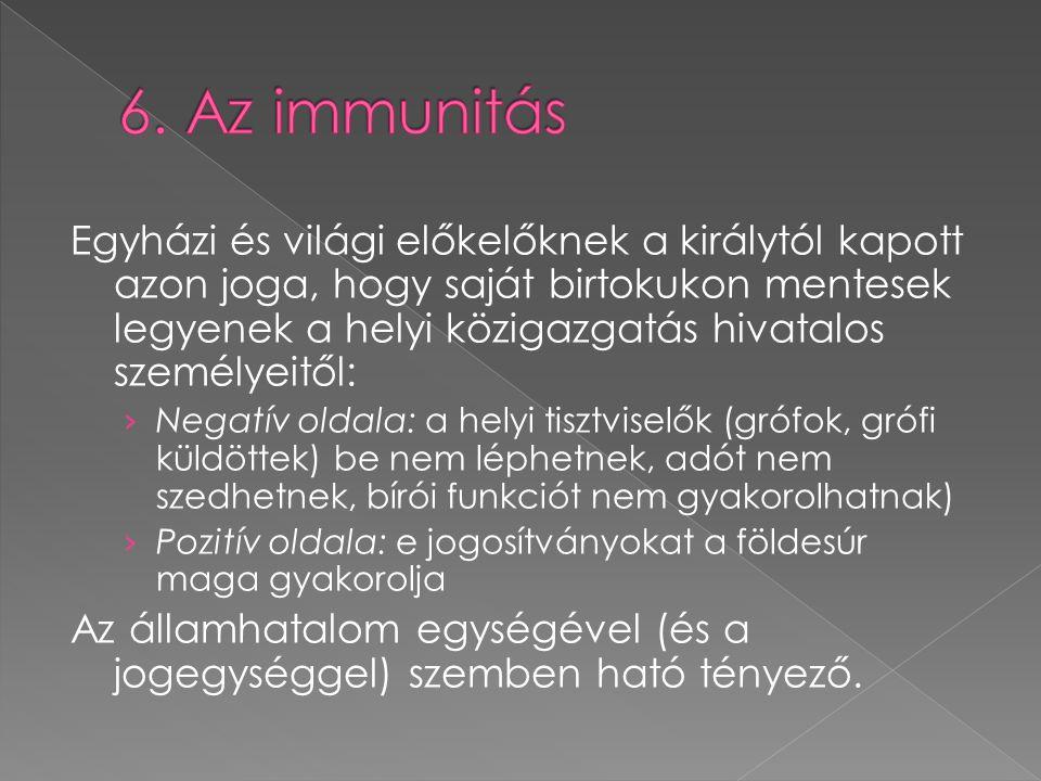 6. Az immunitás