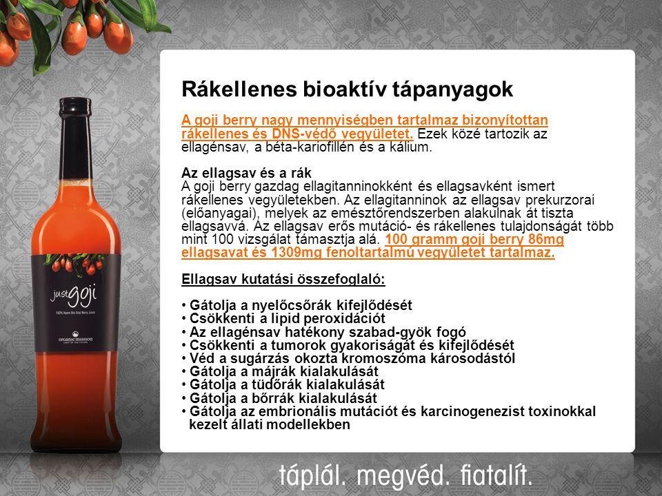 Rákellenes bioaktív tápanyagok