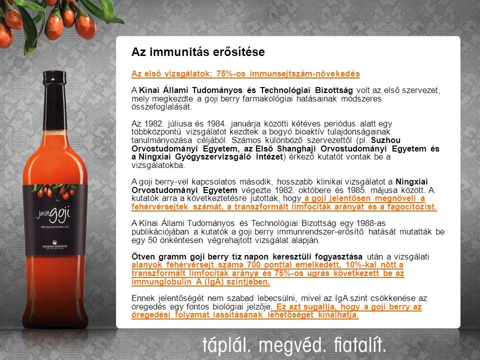 Az immunitás erősítése