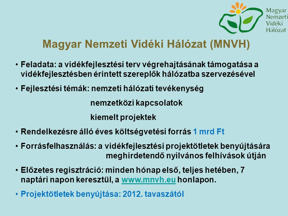 Magyar Nemzeti Vidéki Hálózat (MNVH)