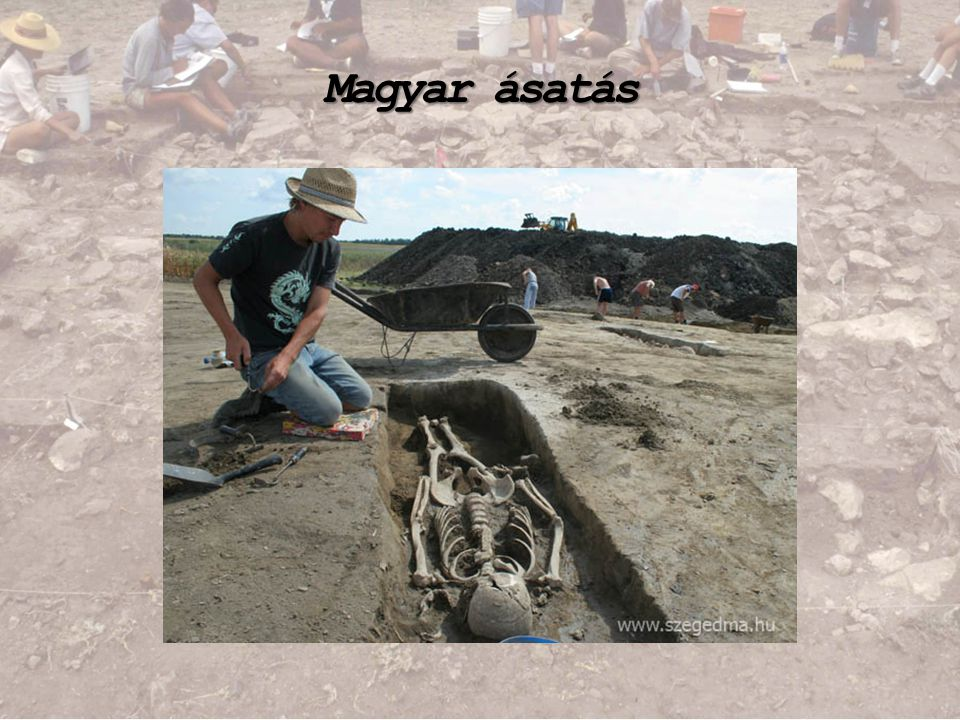 Magyar ásatás
