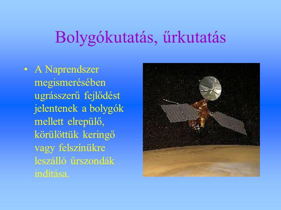 Bolygókutatás, űrkutatás
