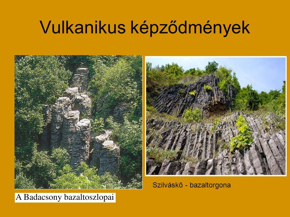 Vulkanikus képződmények