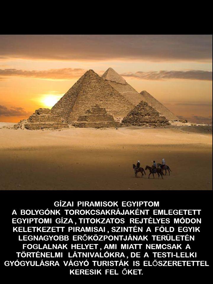 GÍZAI PIRAMISOK EGYIPTOM