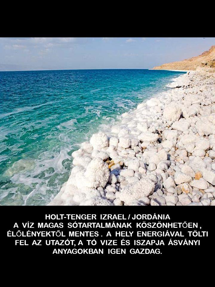 HOLT-TENGER IZRAEL / JORDÁNIA