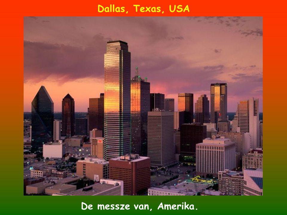 Dallas, Texas, USA De messze van, Amerika.