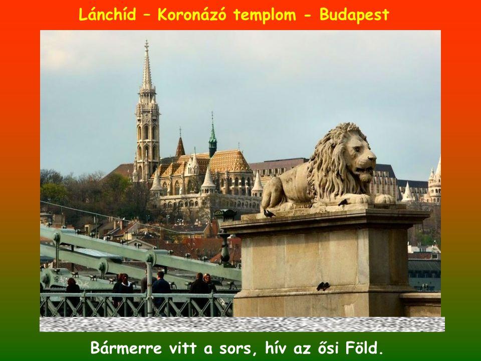 Lánchíd – Koronázó templom - Budapest