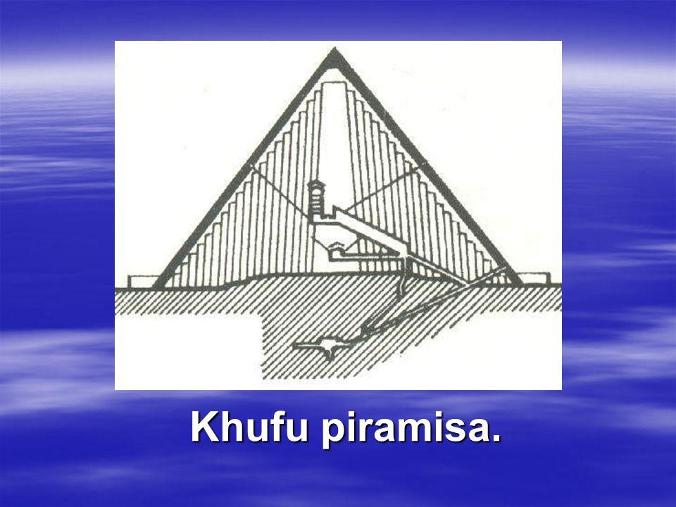 Khufu piramisa.