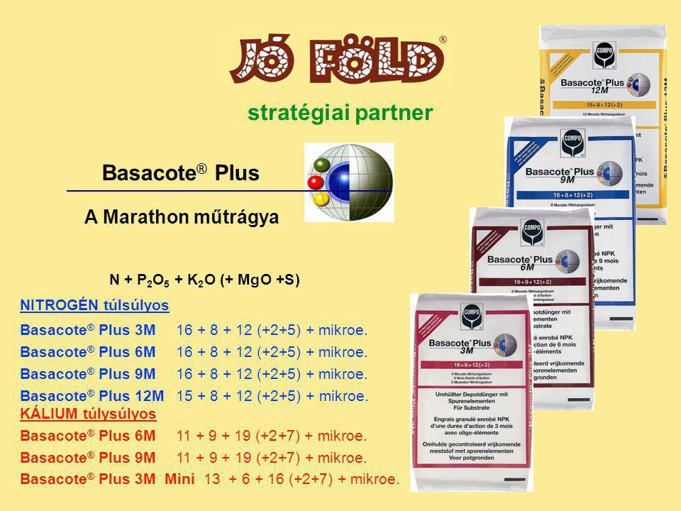 stratégiai partner Basacote® Plus A Marathon műtrágya