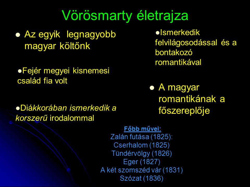 Vörösmarty életrajza Az egyik legnagyobb magyar költőnk