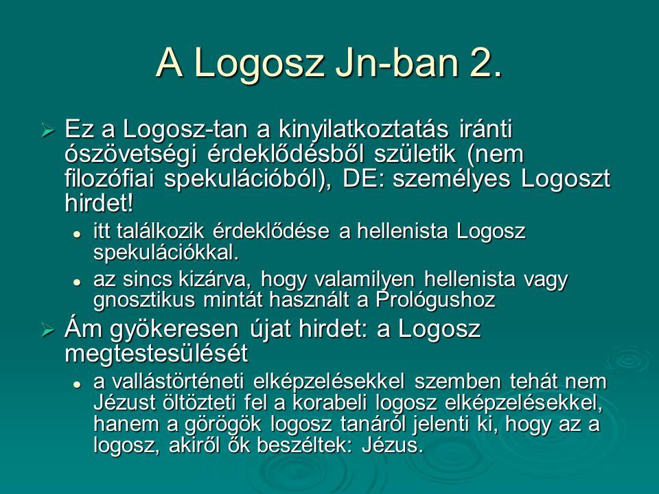 A Logosz Jn-ban 2.