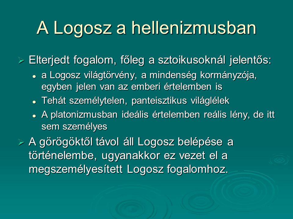 A Logosz a hellenizmusban