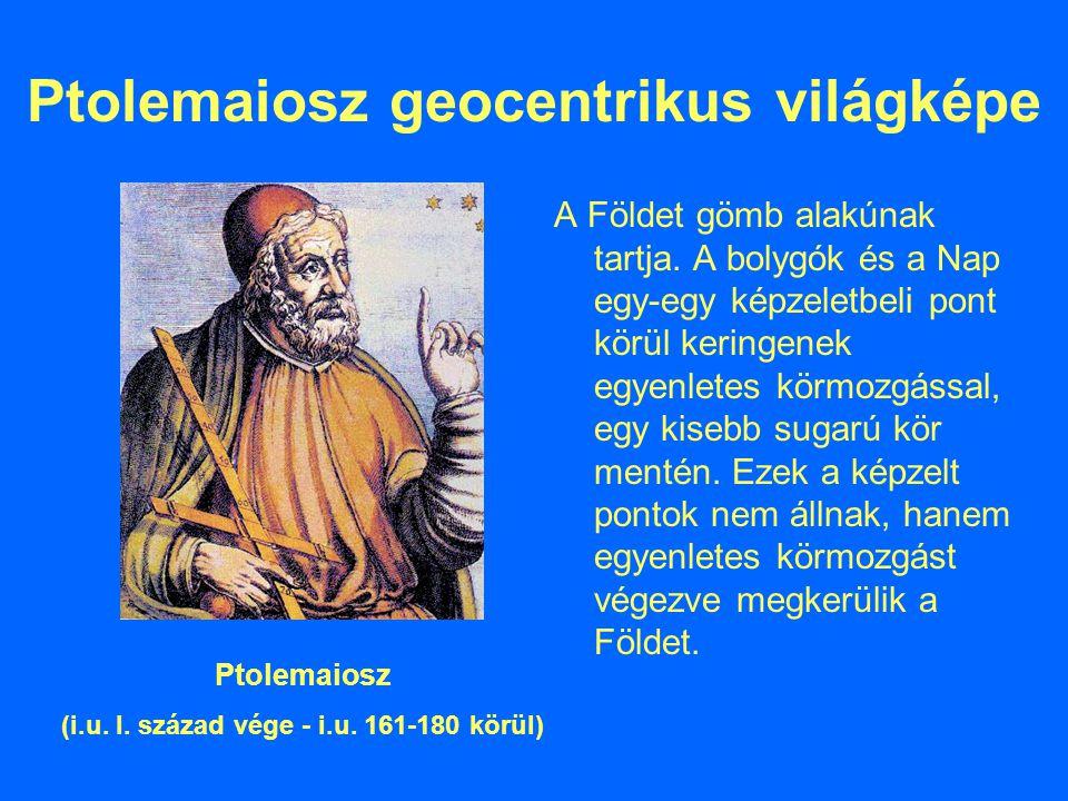 Ptolemaiosz geocentrikus világképe