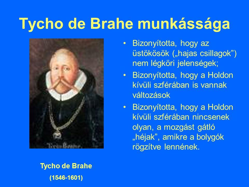 Tycho de Brahe munkássága