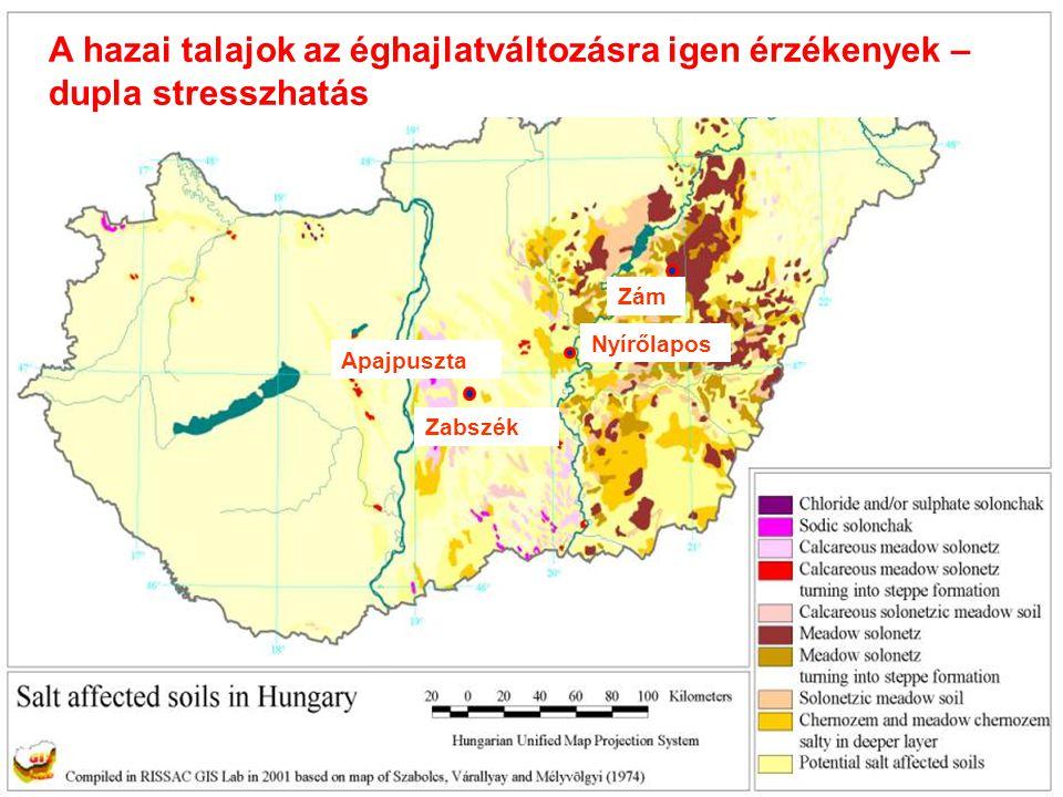 A hazai talajok az éghajlatváltozásra igen érzékenyek –dupla stresszhatás
