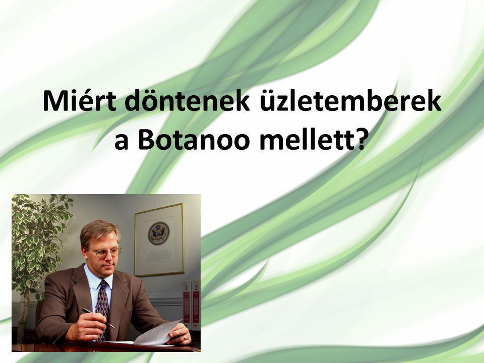 Miért döntenek üzletemberek a Botanoo mellett
