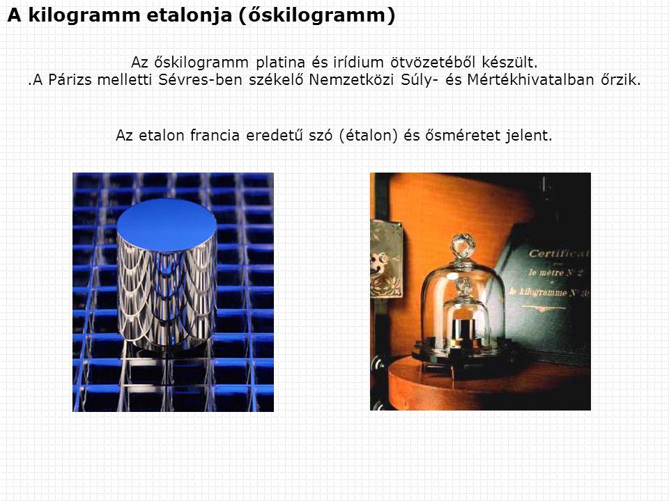A kilogramm etalonja (őskilogramm)