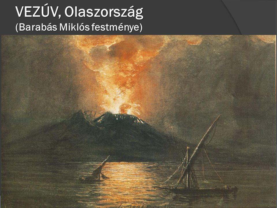 VEZÚV, Olaszország (Barabás Miklós festménye)